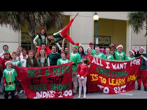 Sarasota Holiday Parade 2015 in 4k UHD