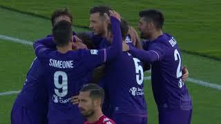 Il gol di Veretout - Fiorentina - Sassuolo 3-0 - Giornata 15 - Serie A TIM 2017/18