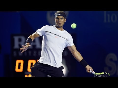 Hot Shot: Nadal Nails Outrageous Passing Shot At Acapulco 2017