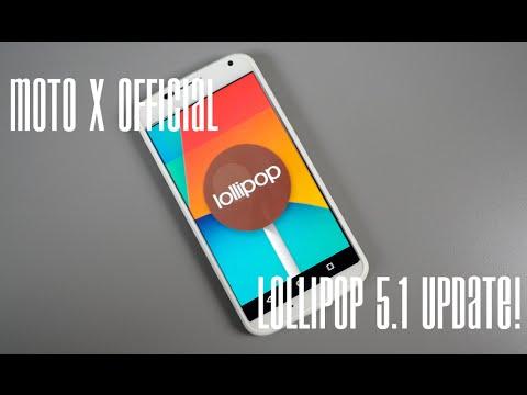 Moto X 1st Gen Official Lollipop 5.1 update!