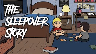 The Sleepover Story - Scary Story Animated