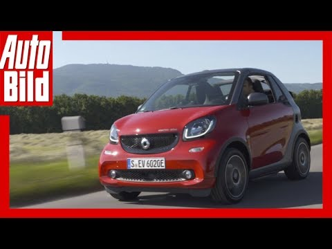 Smart fortwo electric drive Cabrio (2017) Details/Erklärung