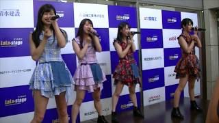 アイドルグループparfait(パルフエ) 。 6/10に宇都宮駅前のララスクエア...