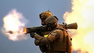POWERFUL !!! US Military Carl Gustave Rocket Launcher system