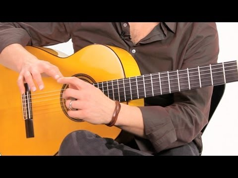 how-to-produce-sound-with-your-nails-|-flamenco-guitar
