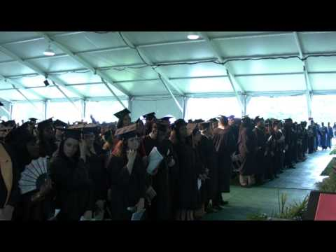 The 2016 Commencement of the Community College of Baltimore County