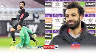 Mo Salah explains his sublime second goal against West Ham as Liverpool go third!