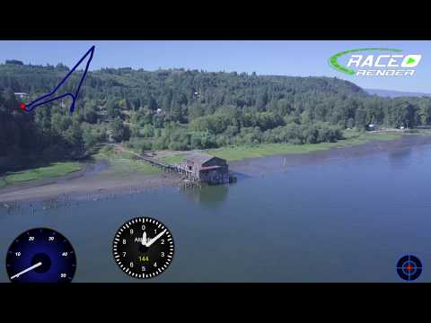 UAS Flight from Willow Grove Over the Columbia and back