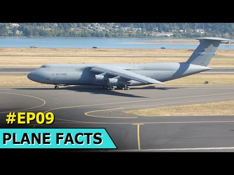 The Big Transport Planes | Lockheed C-5 Galaxy | The Plane Facts | Episode 9