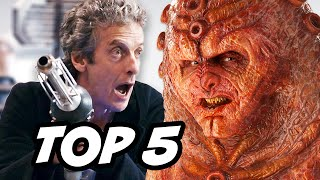Doctor Who Series 9 Episode 7 - TOP 5 WTF and Easter Eggs