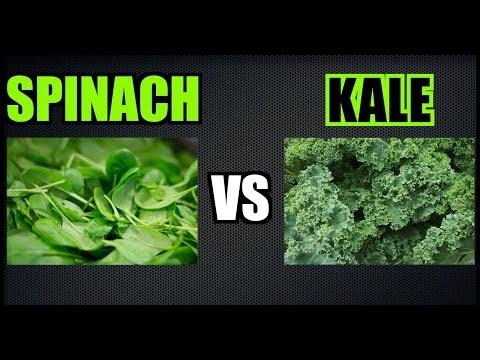 Spinach Vs Kale | Nutrition Battle