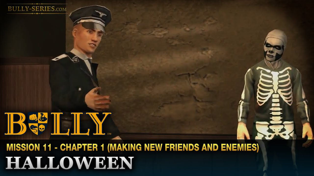Halloween - Mission #11 - Bully: Scholarship Edition - YouTube