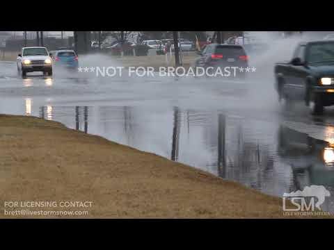 03-12-19 Wichita, KS - Lightning, Heavy Rain, Street Flooding.