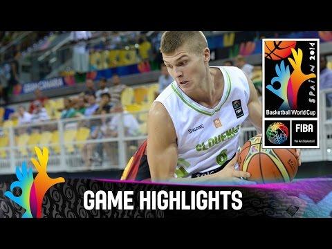 Slovenia v Angola - Game Highlights - Group D - 2014 FIBA Basketball World Cup