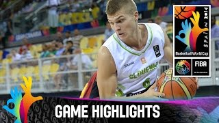 Slovenia v Angola - Game Highlights - Group D - 2014 FIBA Basketball World Cup