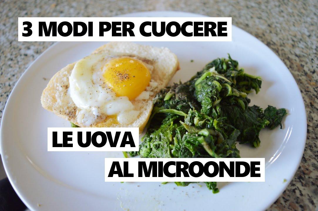 3 ricette semplicissime per cuocere le uova al microonde for Ricette microonde
