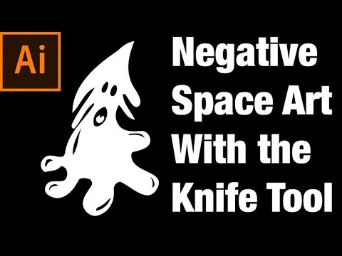 How to use the Knife Tool in Adobe Illustrator
