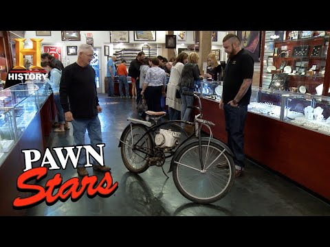 Pawn Stars: Shelby Bicycle with Motor (Season 12, Episode 20) | History