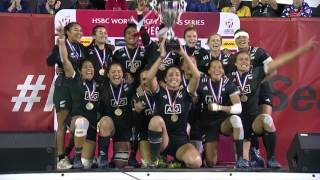 All the action from the HSBC World Rugby Women's Sevens Series