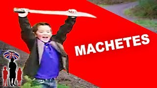 Moving House Leaves Young Brothers Obsessed With Machetes | Supernanny USA
