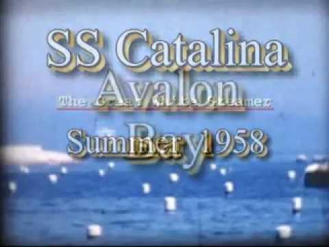 Catalina White Steamer Summer 1958