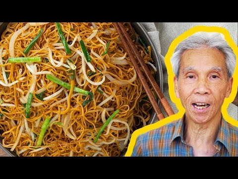 🍜 Dad's Cantonese Chow Mein (豉油王炒面)