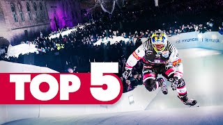 Top 5 Moments in Marseille, France | Red Bull Crashed Ice 2018