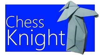 Chess Knight Origami Tutorial (Joseph Wu)