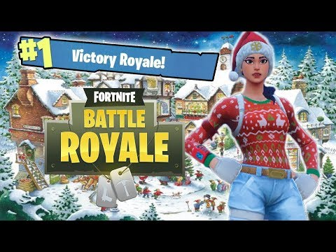 TRAPPING THE LAST PLAYER IN THE GAS! - FORTNITE WINTER UPDATE GAMEPLAY