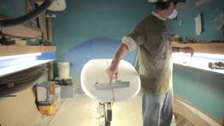 paul carter how to shape a surfboard - part3