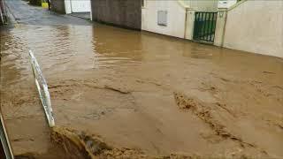 Inondations Fleury sur Andelle 22 janvier 2018