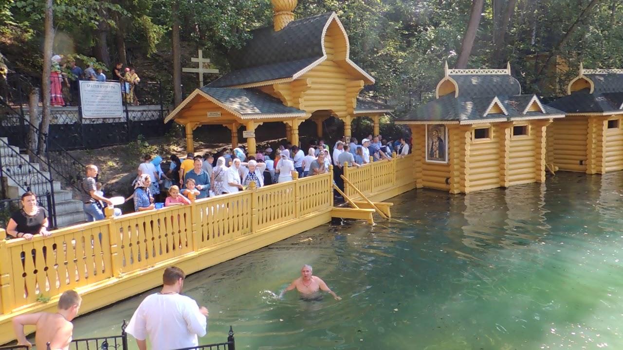 Фото из дивеево в чем купаться