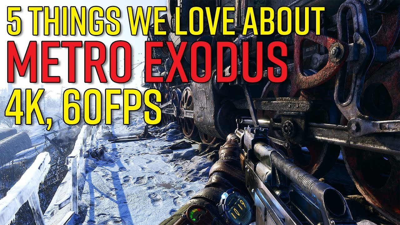 5 Things We Love About METRO EXODUS After Playing It (4K, 60fps)