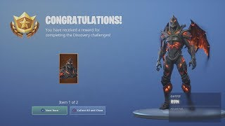 *UNLOCKING* The FREE Fortnite Skin 'RUIN' After Food Fight Game (ALL Fortnite Challenges Complete)