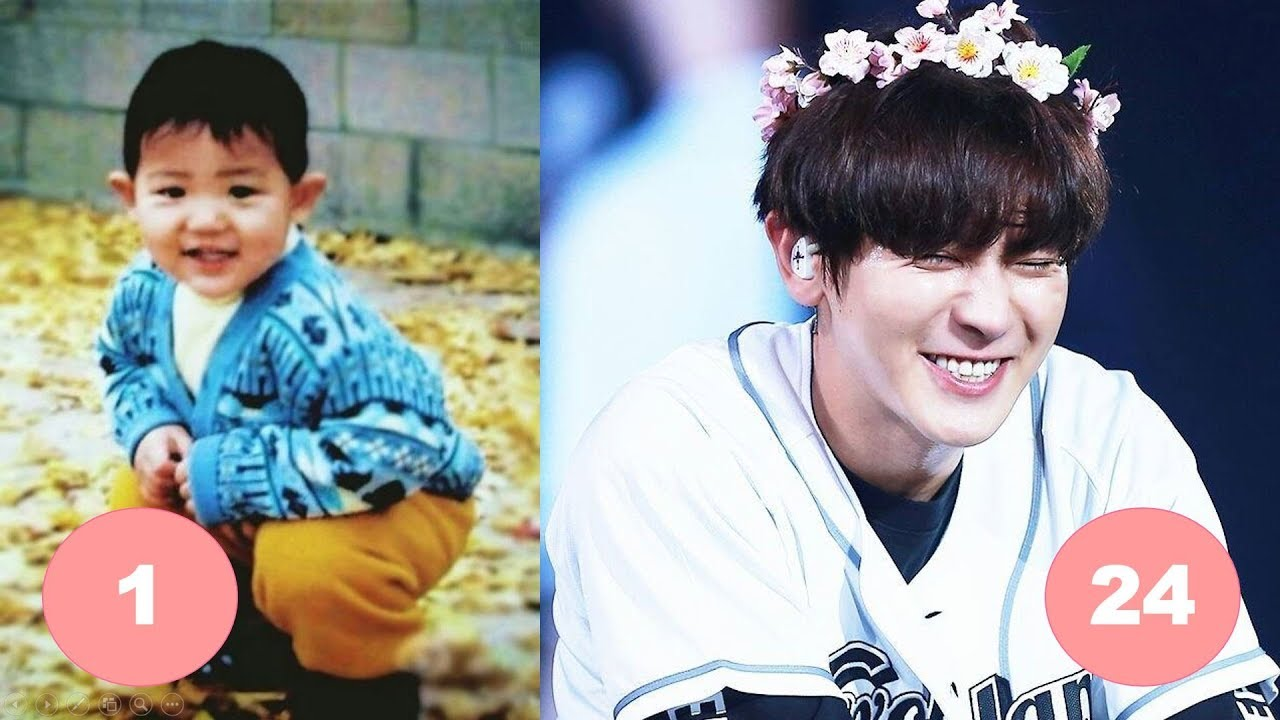 Lay Exo Childhood From 1 To 25 Years Old Youtube