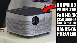 XGIMI H2: This Projector Is Perfect For Home Cinema! Hands-on Preview