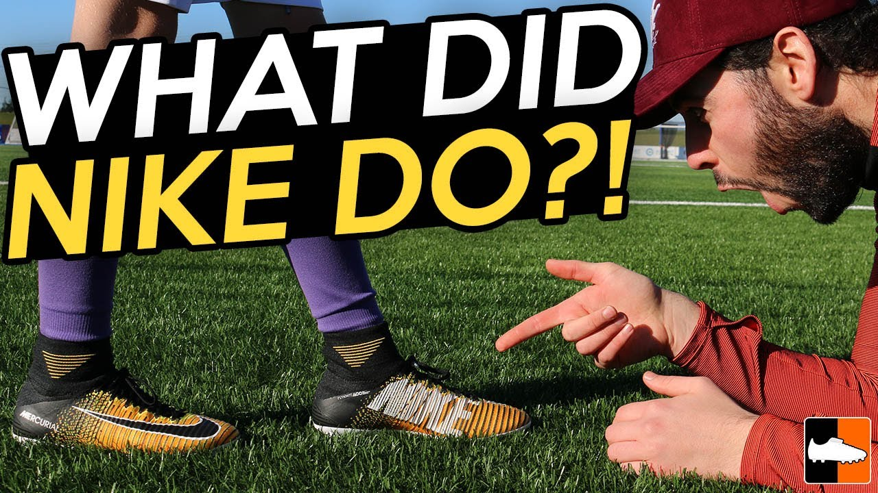 fc01974f0f9 Kid Attempts Challenge To Win Nike Mercurial Superfly V - YouTube