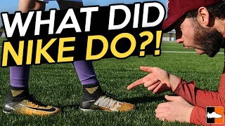 Kid Attempts Challenge To Win Nike Mercurial Superfly V