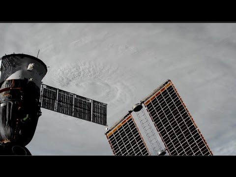 Hurricane Mathew Heads Towards US: Space Station Flyover Oct 4