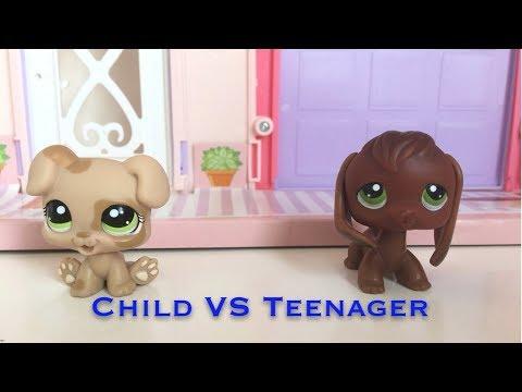 LPS: Child VS Teenager (Skit)