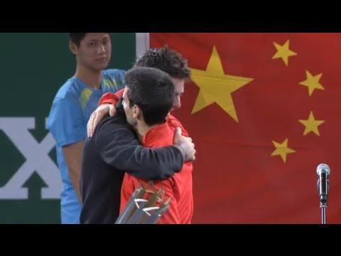 M1000 Shanghai 2013 || Palabras de Djokovic y Del Potro [Premiación]