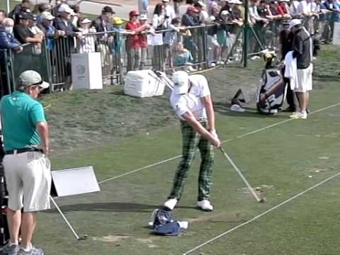 Jamie Donaldson Golf Swing In Slow Motion With An Iro