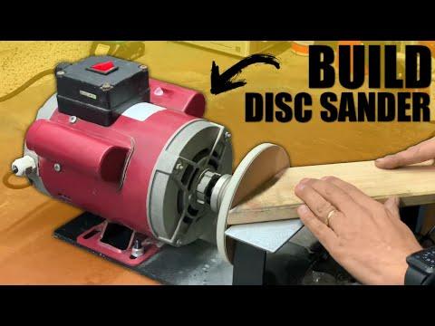 How to Make a Disc Sander