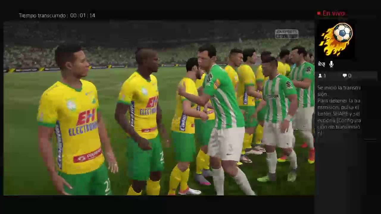 Atlético Nacional Vs Atlético Huila - Liga Águila 15/10/2016 - Simulador Fifa 17 - YouTube
