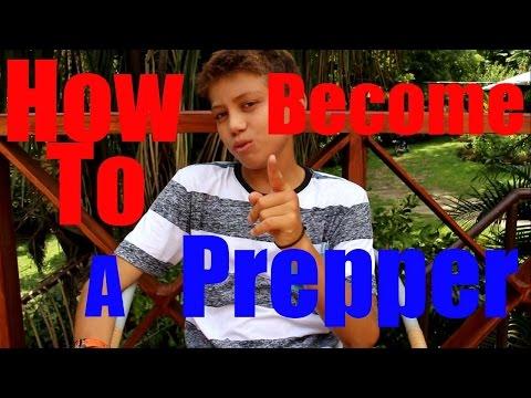 How To Become A Doomsday Prepper - Kid Prepper
