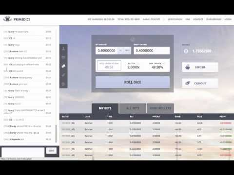 PrimeDice Bitcoin Casino | Free BTC 0.0001/Minute | Instant Bitcoin Gambling