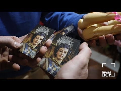 VÍDEO: La Asociación Cultural La Calzada reparte 1200 rosquillas en el día de San Rafael