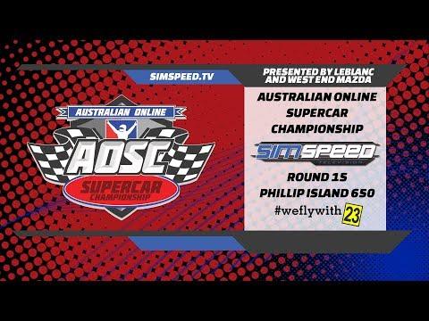 LeBLANC Australian Online Supercar Championship     Round 15     Phillip Island 650