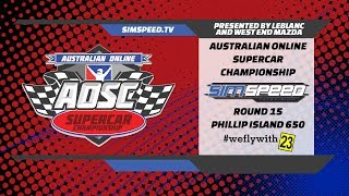 LeBLANC Australian Online Supercar Championship  |  Round 15  |  Phillip Island 650