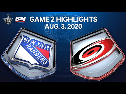 NHL Highlights | Rangers vs. Hurricanes, Game 2 – Aug. 3, 2020